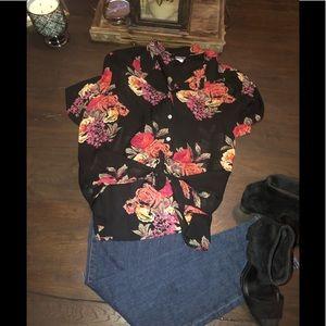 Jones New York silk blouse